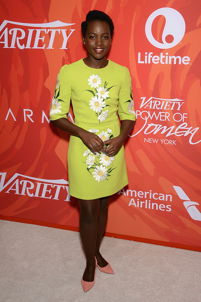 NEW YORK, NEW YORK - APRIL 08:  Actress Lupita Nyong'o attends Variety's Power Of Women: New York 2016 at Cipriani Midtown on April 8, 2016 in New York City.  (Photo by Andrew Toth/Getty Images)