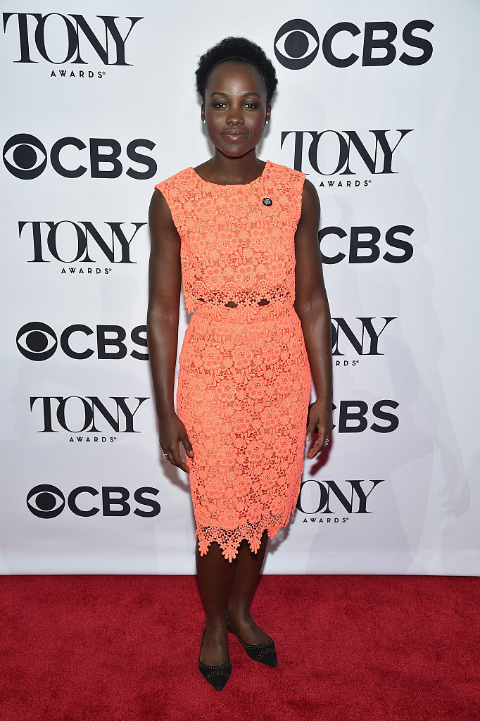 NEW YORK, NY - MAY 04:  Actress Lupita Nyong'o attends the 2016 Tony Awards Meet The Nominees Press Reception on May 4, 2016 in New York City.  (Photo by Dimitrios Kambouris/Getty Images for Tony Awards Productions )