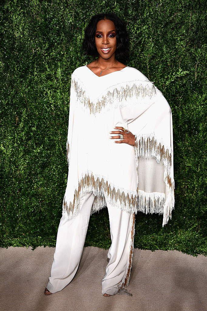 NEW YORK, NY - NOVEMBER 07:  Kelly Rowland attends 13th Annual CFDA/Vogue Fashion Fund Awards at Spring Studios on November 7, 2016 in New York City.  (Photo by Dimitrios Kambouris/Getty Images)