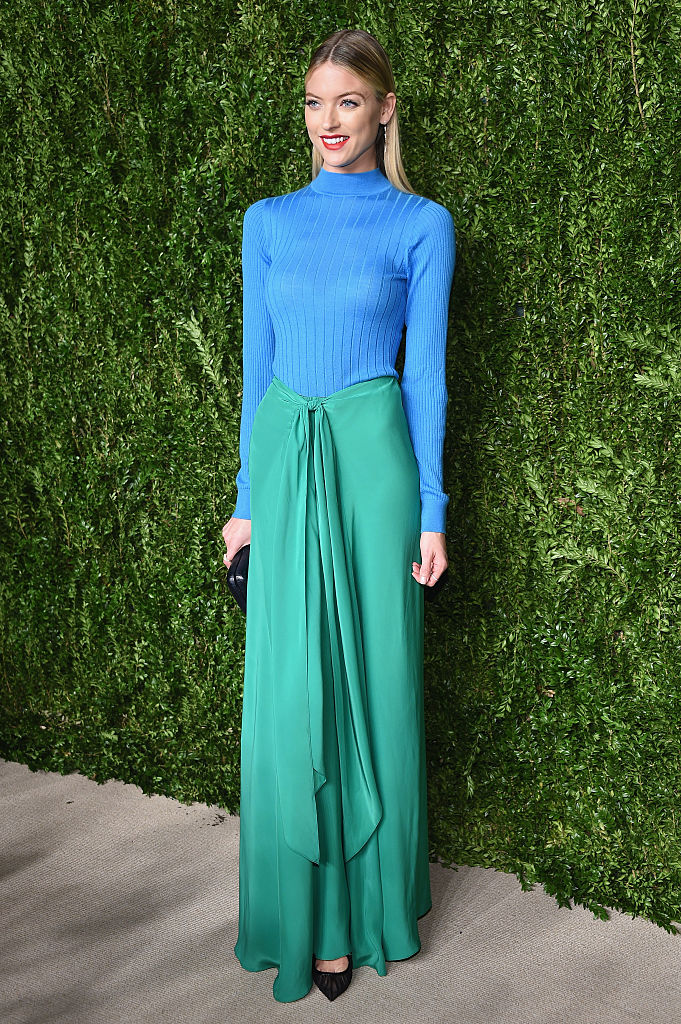 NEW YORK, NY - NOVEMBER 07:  Model Martha Hunt attends 13th Annual CFDA/Vogue Fashion Fund Awards at Spring Studios on November 7, 2016 in New York City.  (Photo by Dimitrios Kambouris/Getty Images)