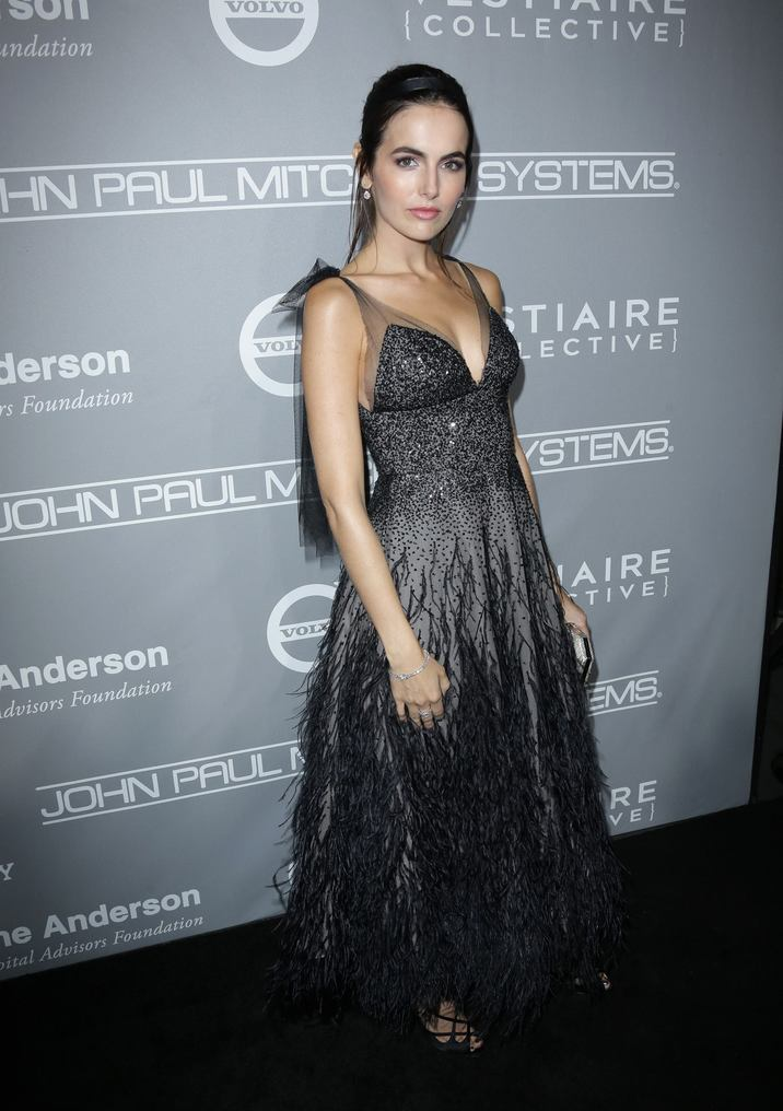 Mandatory Credit: Photo by Jim Smeal/BEI/Shutterstock (7431596hl) Camilla Belle The Fifth Annual Baby2Baby Gala, Arrivals, Los Angeles, USA - 12 Nov 2016