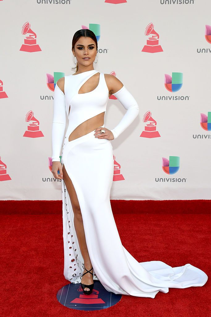 LAS VEGAS, NV - NOVEMBER 17:  Model Clarissa Molina attends The 17th Annual Latin Grammy Awards at T-Mobile Arena on November 17, 2016 in Las Vegas, Nevada.  (Photo by Ethan Miller/Getty Images )