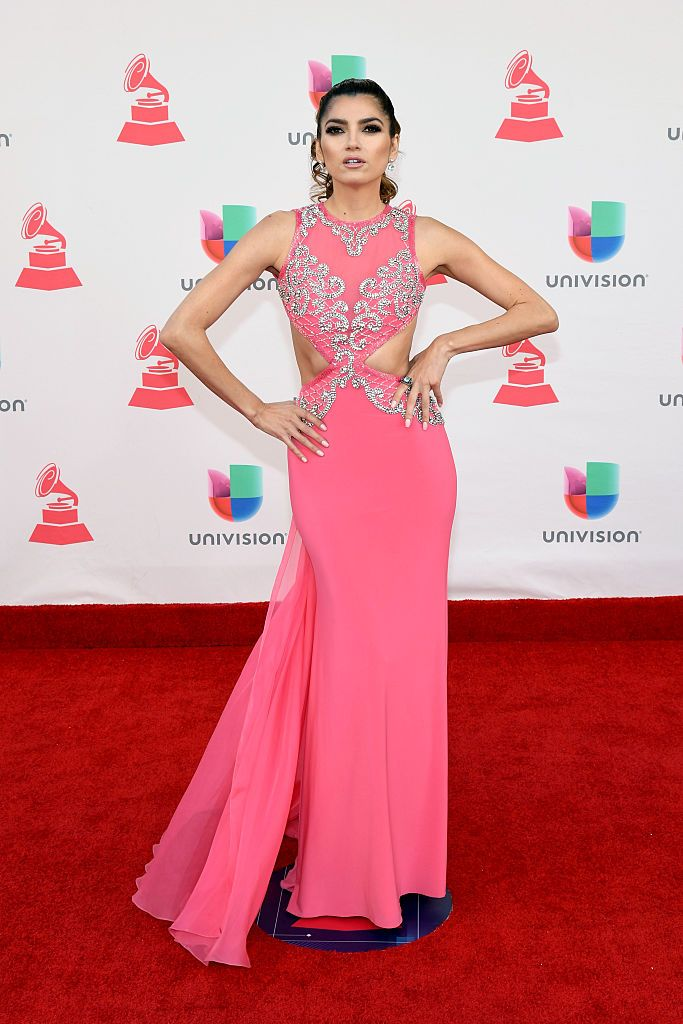 LAS VEGAS, NV - NOVEMBER 17:  Actress Blanca Blanco attends The 17th Annual Latin Grammy Awards at T-Mobile Arena on November 17, 2016 in Las Vegas, Nevada.  (Photo by Ethan Miller/Getty Images )