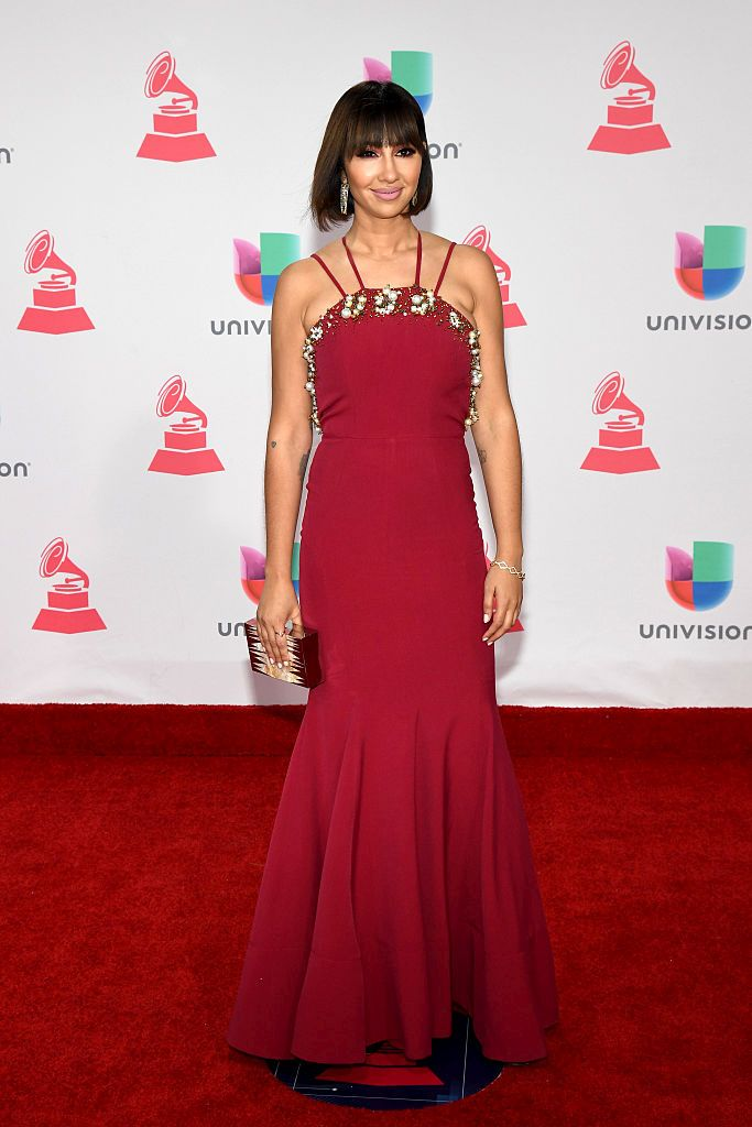 LAS VEGAS, NV - NOVEMBER 17: Actress Jackie Cruz attends The 17th Annual Latin Grammy Awards at T-Mobile Arena on November 17, 2016 in Las Vegas, Nevada.  (Photo by Ethan Miller/Getty Images )