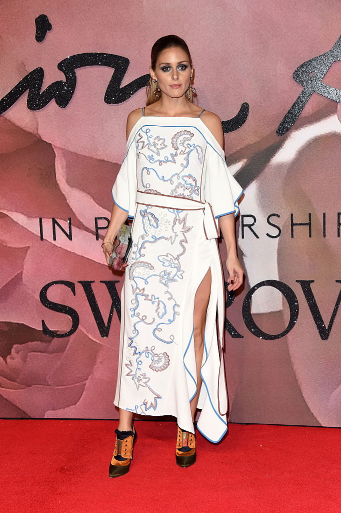 LONDON, ENGLAND - DECEMBER 05: Olivia Palermo attends The Fashion Awards 2016 on December 5, 2016 in London, United Kingdom.  (Photo by Stuart C. Wilson/Getty Images)