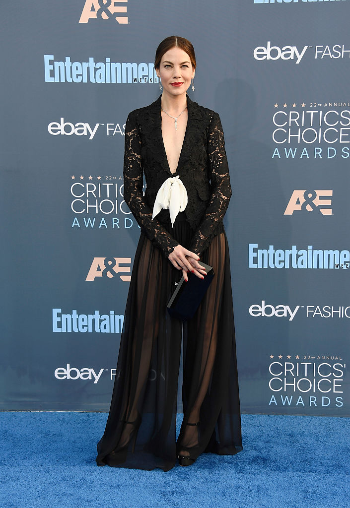 SANTA MONICA, CA - DECEMBER 11:  Actress Michelle Monaghan attends The 22nd Annual Critics' Choice Awards at Barker Hangar on December 11, 2016 in Santa Monica, California.  (Photo by Frazer Harrison/Getty Images)