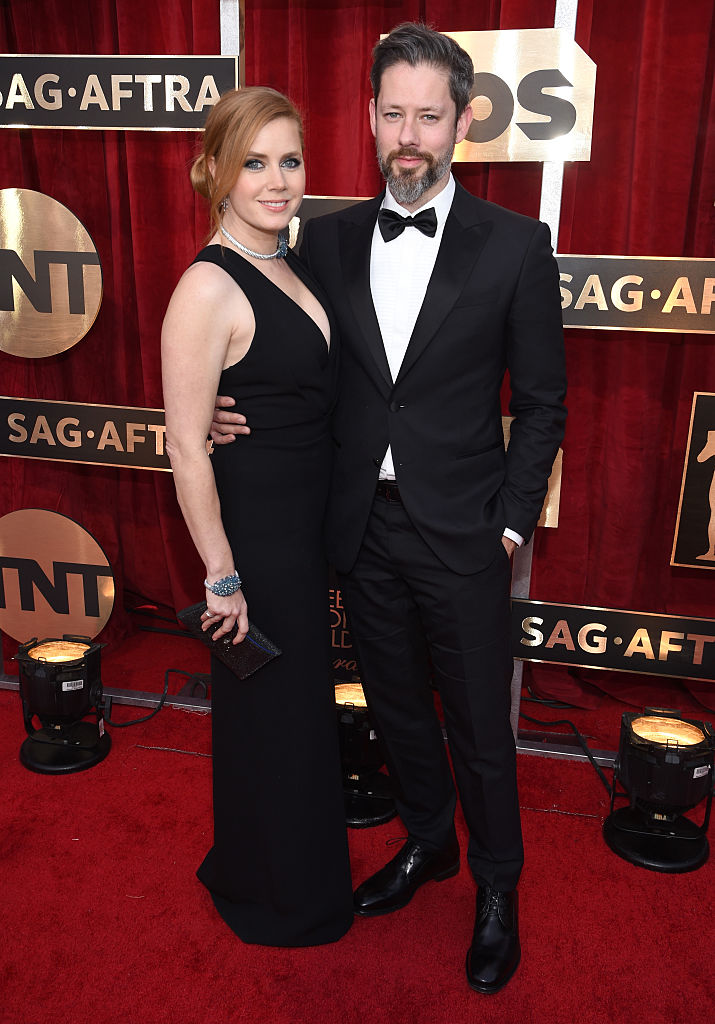 LOS ANGELES, CA - JANUARY 29: Actors Amy Adams (L) and Darren Le Gallo attend The 23rd Annual Screen Actors Guild Awards at The Shrine Auditorium on January 29, 2017 in Los Angeles, California. 26592_009 (Photo by Dimitrios Kambouris/Getty Images for TNT)