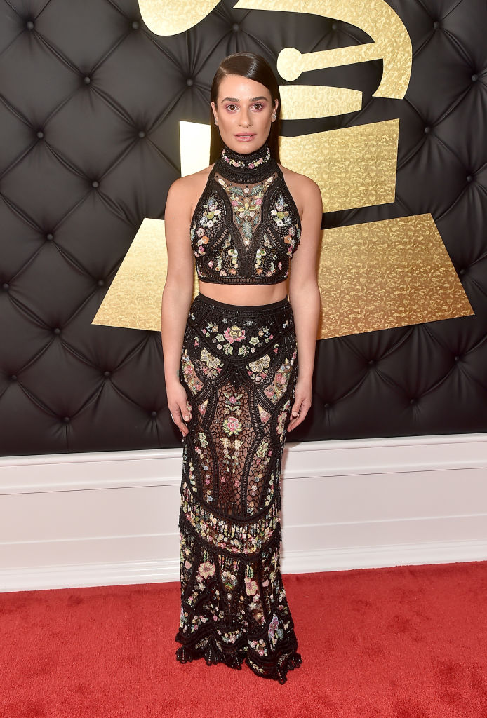 LOS ANGELES, CA - FEBRUARY 12: Actor/singer Lea Michele attends The 59th GRAMMY Awards at STAPLES Center on February 12, 2017 in Los Angeles, California. (Photo by Alberto E. Rodriguez/Getty Images for NARAS)
