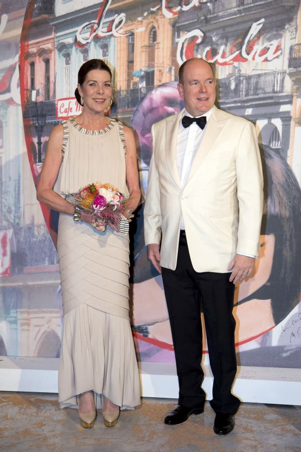 Principesa de Hanovreşi Prinţul Albert de Monaco.