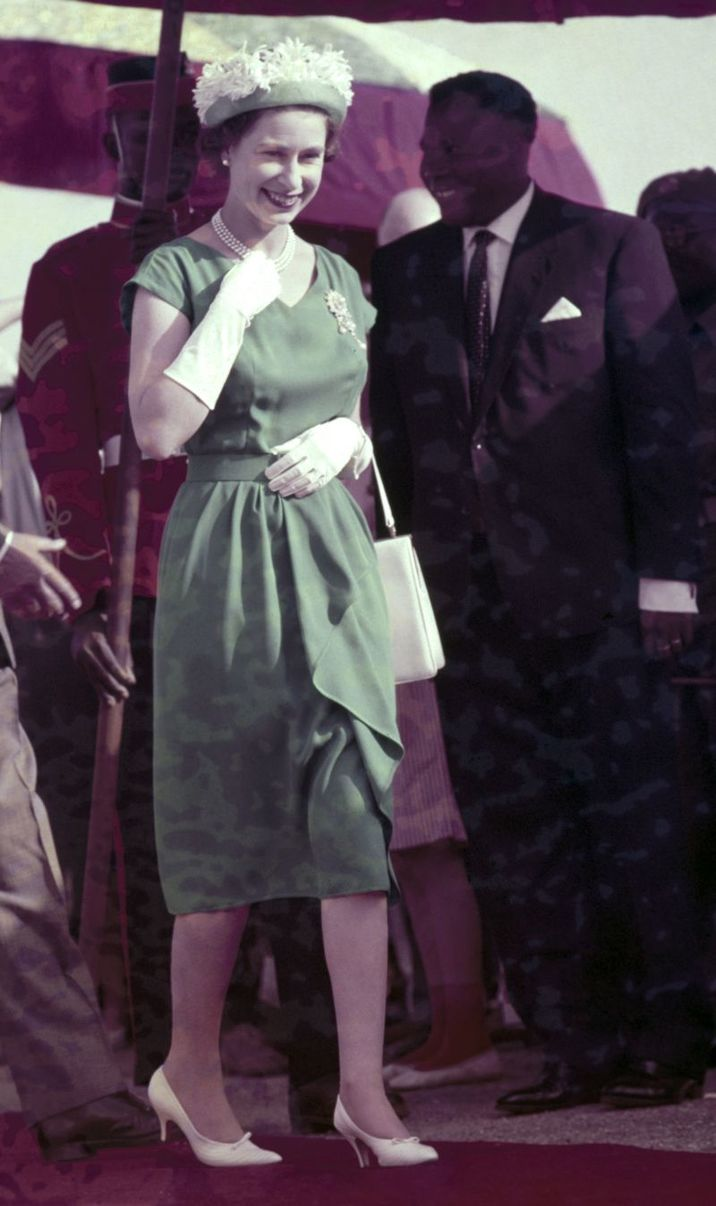 Elisabeta II in1961