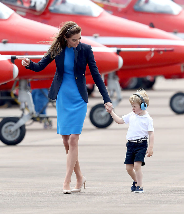Kate Middleton, Printul George GettyImages-545496650