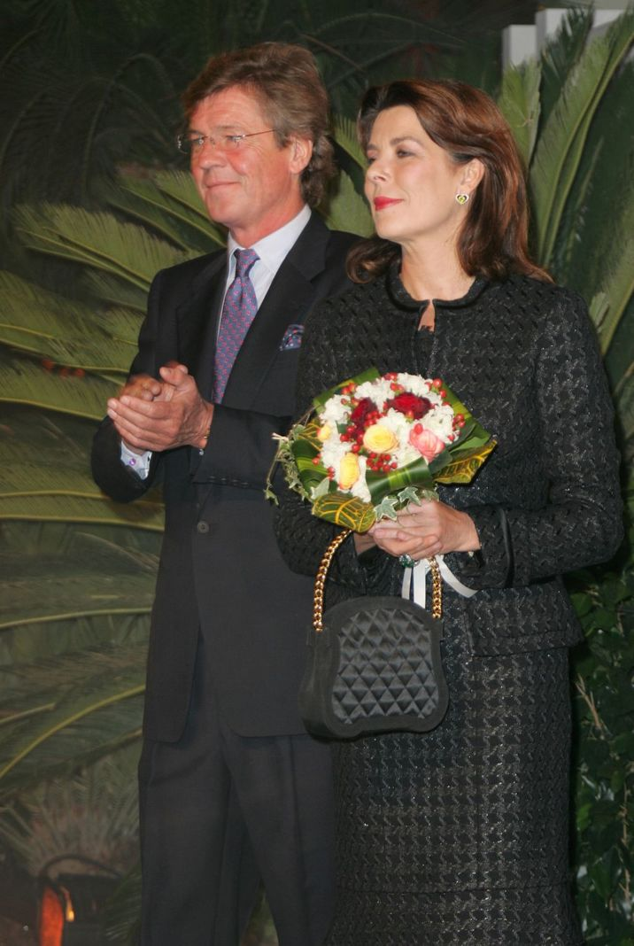 HSH Ernst August of Hanover and Princess Caroline of Hanover (Photo by Tony Barson/WireImage)