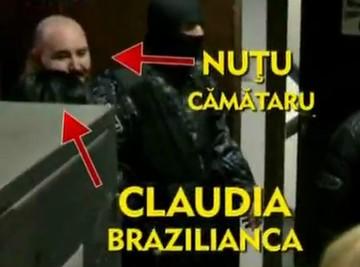 Nutu Camataru e innebunit dupa Brazilianca lui! Uite-l cum striga din duba politiei ca o iubeste!