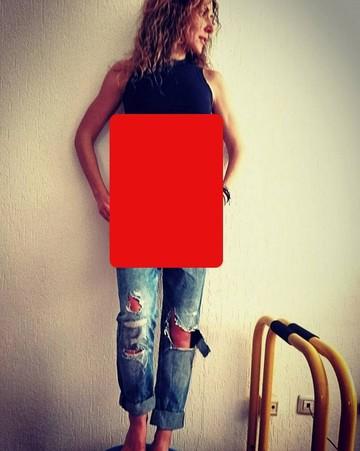 Doamne, ce abdomen plat are Carmen Bruma! Imaginea cu ea care a facut furori pe net e aici!