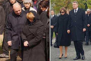 Blestemul sotiilor de presedinti! Atat Carmen Iohannis cat si Maria Basescu si-au pierdut mamele in perioada in care barbatii lor erau la Cotroceni! Cum au aratat cele doua prime doamne, indoliate!