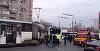 Accident pe Sos. Mihai Bravu! Un tramvai a deraiat, patru persoane au fost ranite!