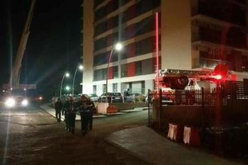 INCENDIU intr-un bloc din Capitala! 40 de persoane au fost evacuate sambata dimineata
