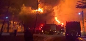 Incendiu puternic intr-un spital din tara! Peste 70 de bolnavi, evacuati