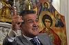 A fost preotul lui Gigi Becali si acum poate ramane pe drumuri! Reglare de conturi din ca-n fimele cu mafioti la biserica din Penitenciarul Jilava