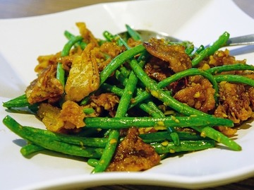Reteta delicioasa - pui cu fasole verde