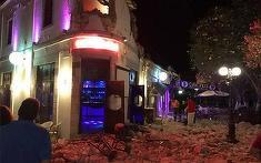 Un cutremur de magnitudine 6,7 a avut loc in apropiere de Bodrum! Doi oameni au murit