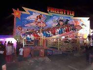 Scene de groaza intr-un parc de distractii din Giurgiu! S-a rupt tiribomba plina cu oameni, la balci