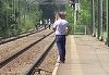Reactia sotului gravidei sinucigase dupa ce a aflat ca femeia s-a aruncat in fata trenului impreuna cu cele trei fete ale lor