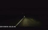 """Intalnire cu """"mireasa moarta""""? Aparitie stranie pe un drum judetean din Buzau"""