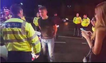 Cum l-a primit sotia pe politistul care l-a facut KO pe Boureanu! Imaginea a fost facuta publica