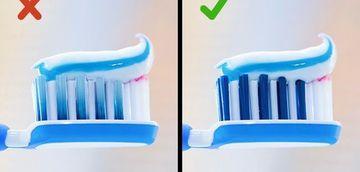 Foarte tare! Ce reprezinta dungile albastre de pe periuta de dinti! Sigur nu stiai asta!