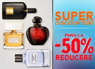 In septembrie, discounturi de până la 50% la parfumeria.ro!