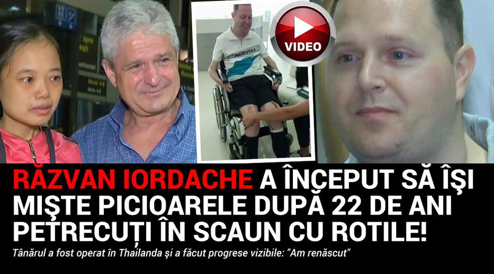 Razvan Iordache a inceput sa...