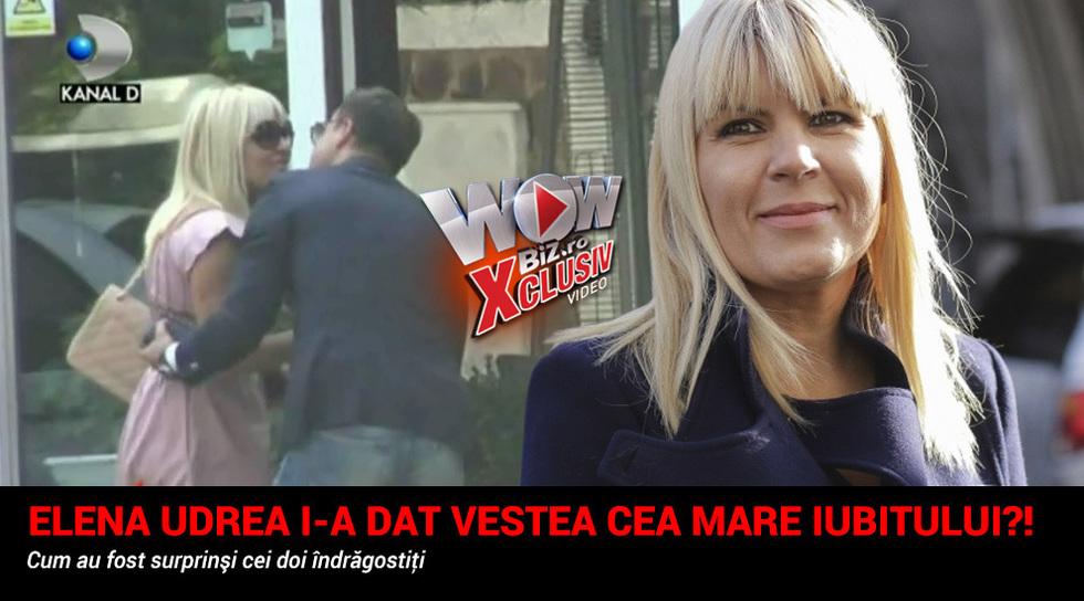 Elena Udrea i-a dat vestea...