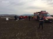 Omul de afaceri din Alba, care a aterizat fortat cu un avion de mici dimensiuni, a murit