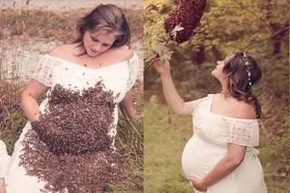 O gravida a intrat cu burtica intr-un roi de albine si a stat nemiscata. E sfasietor ce a vazut medicul la ecografie