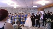 Mireasa a luat cuvantul la nunta cand a vazut-o in sala pe fosta sotie a mirelui! I-a cerut femeii sa se ridice in picioare si...