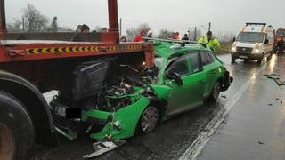 Accident teribil, in urma cu putin timp! Mai multe persoane, in stare grava