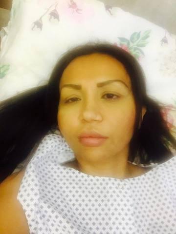 Narcisa Guta, pe patul de spital. A facut anuntul joi dimineata