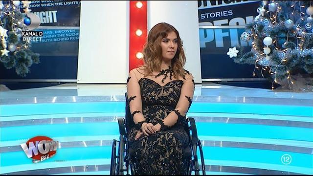 Frumoasa din scaunul cu rotile traieste o alta drama! Are nevoie de o operatie costisitoare, dupa ce medicii au facut o mare greseala