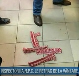 Aveti mare grija la carnea din galantare! Inspectorii ANPC au gasit nereguli grave!