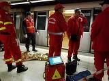 """A pus mainile pe bordura aia! A tipat, a urlat, dar nimeni nu a ajutat-o"". Martorii crimei de la metrou fac dezvaluiri socante! Criminala ar fi bolnava psihic"