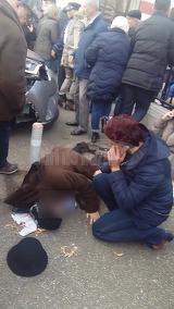 Tipete de durere si oameni intinsi pe asfalt. Imagini sfasietoare de la evenimentul cumplit