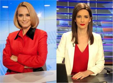 Cum s-au imbracat Andreea Esca si Andreea Berecleanu la pupitrul stirilor, miercuri seara? Toti telespectatorii au observat coincidenta