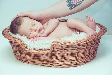 De ce se nasc unii bebelusi cu mult par - Nu se stia pana acum