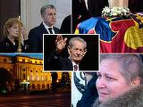 Regele Mihai, pentru ultima oara la Palatul Regal. Mii de bucuresteni au venit sa-i aduca un ultim omagiu Majestatii Sale