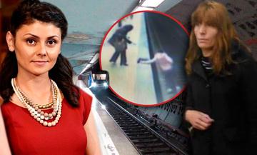 """Ce au simtit pasagerii din primul vagon cand metroul a trecut peste Alina Ciucu? """"S-a zguduit tot..."""""""