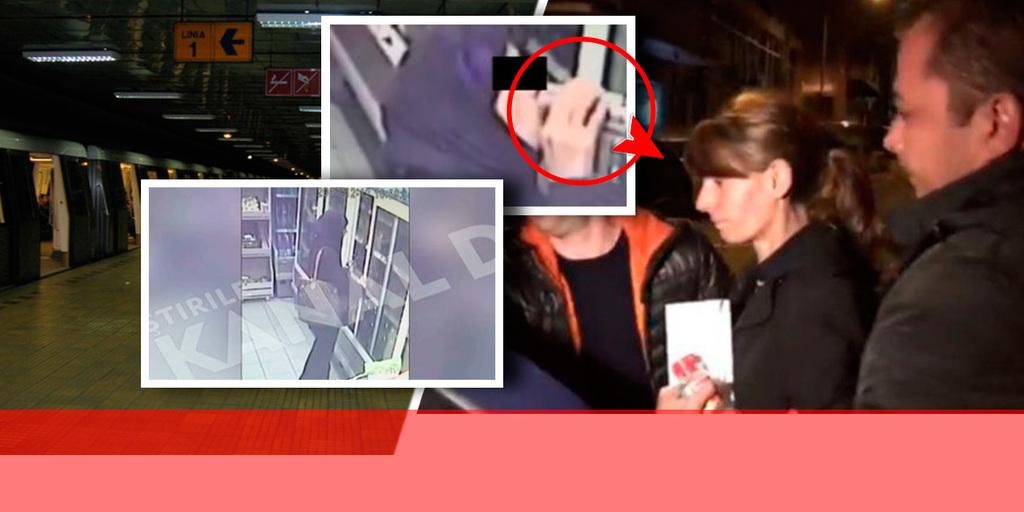 Noi imagini terifiante au iesit la iveala! Cum a fost filmata criminala de la Dristor cu putin timp inainte de atac