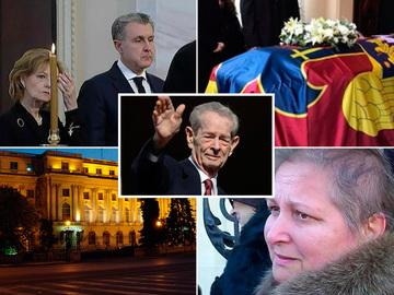 Regele Mihai,  înmormântat astăzi la Curtea de Argeş. Politicienii romani au venit la Palatul Regal pentru a-i aduce un ultim omagiu Regelui Mihai!