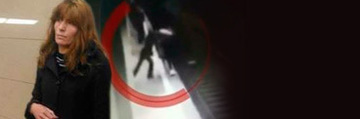 Cum s-a comportat criminala de la metrou atunci cand prima victima a fost chemata sa o identifice! Femeia s-a intors cu spatele si refuza sa isi arate fata! EXCLUSIV
