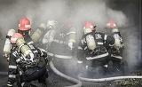 Incendiu în centrul Capitalei! Patru echipaje interviu la faţa locului